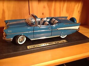 1957 Chevrolet Belair convertible diecast collectable