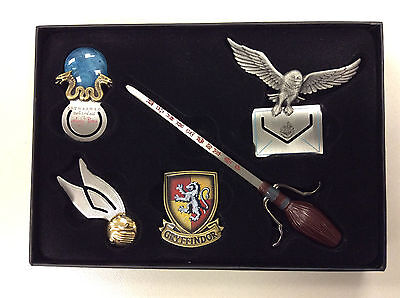 Harry Potter Bookmark Collection 5 Quidditch Snitch Gryffindor Owl Broomstick
