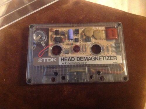 TDK HEAD DEMAGNETIZER HD-01 - Untested
