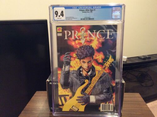 PRINCE: ALTER EGO #1 CGC 9.4 Freshly graded Piranha Press 1991 Rare! White pages