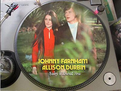"John Farnham & Allison Durbin -  Baby Without You Mega Rare 12"" Picture Disc LP"