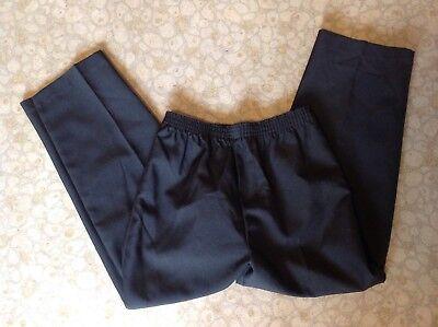 Boys Black Elastic Waist Suit Dress Pants-size 7 NWOT (Boys Elastic Waist Dress Pants)