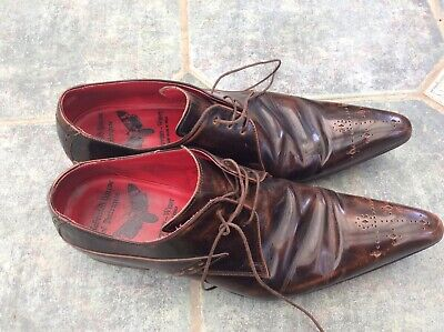 Jeffery West shoes size 10 Brown Shoes