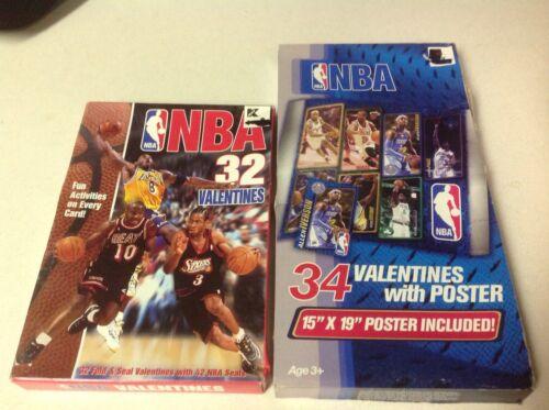 NBA Valentines 2-different boxes w/Kobe Bryant (1999 & 2008)