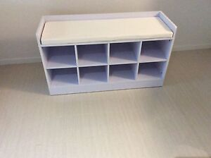 Shoe organiser and storage cabinet - white Cleveland Redland Area Preview