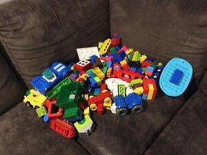 Kids Huge lego duplo toy building blocks  bulk lot Latrobe Latrobe Area Preview