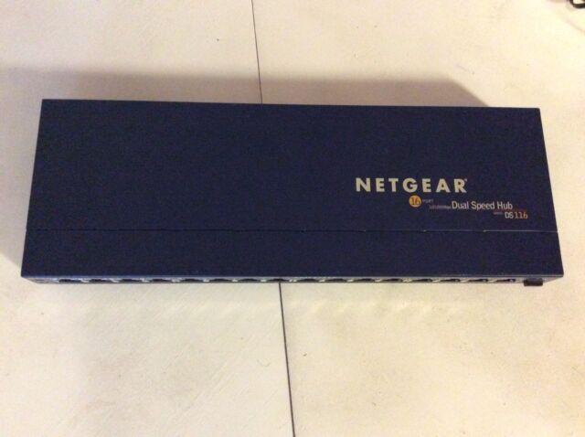NETGEAR DS116 - Dual Speed Hub - 16 Port
