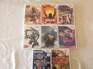 Wii games $10 each. Canning Vale Canning Area Preview
