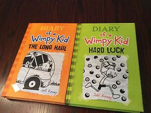Diary of a wimpy kid books #8 and #9