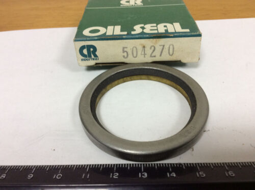 "CR 504270 Oil Seal, Nitrile, 1.7500"" ID, 2.2500"" OD, .2183"" Wide"