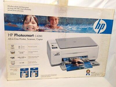 HP Photosmart C4280 All In One Printer Scanner Copier NIP New In