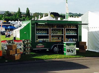 Our Product marketing exhibition trailers are designed with ground level open plan designs