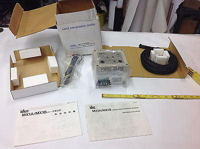 Idec Mx1a-b12r6l Laser Displacement Sensor Controller Dated 2006 New In Box