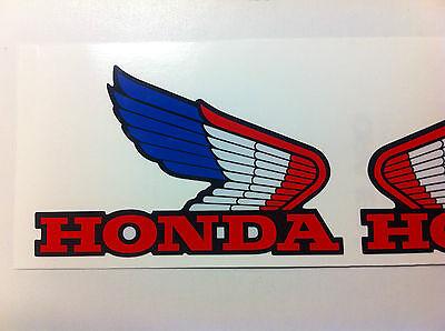 Honda ATC Wings Decals 1985 ATC350X  350X ATC 70