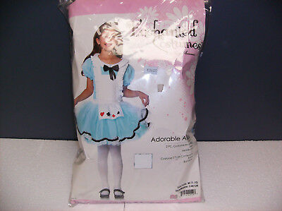 LEG AVENUE ADORABLE ALICE CHILD HALLOWEEN COSTUME MEDIUM - Adorable Baby Girl Halloween Costumes