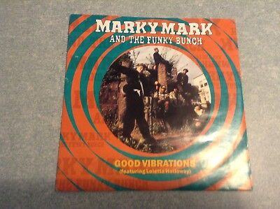 Disque vinyle 45 tours /marky mark, and the funky bunch