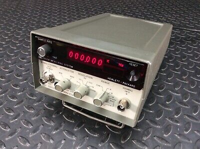 Hp 5300a Measuring System W Hp 5305b 1300mhz Counter