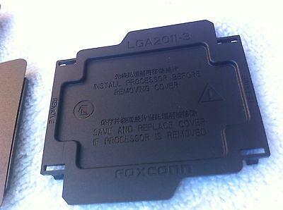 FOXCONN  LGA2011-3  LGA2011-V3  CPU SOCKET COVER , 100% ORIGINAL-BLACK