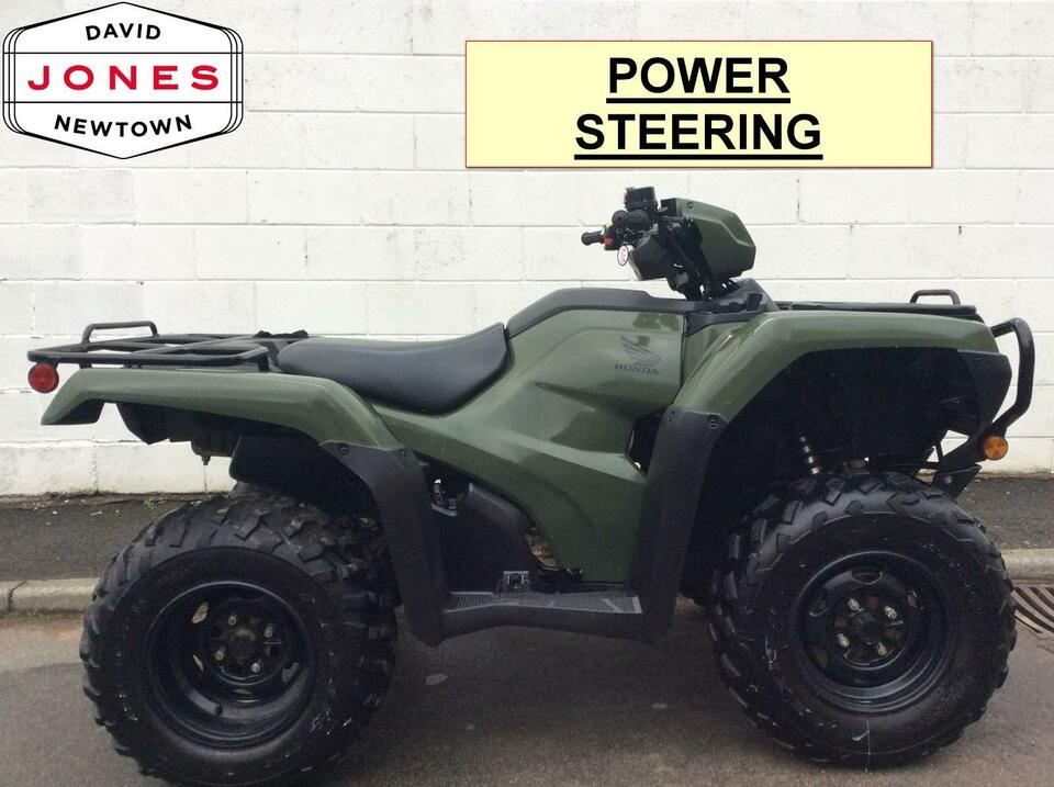 2016 HONDA TRX500S FM FOREMAN MANUAL-SHIFT MODEL 4x2x4 4WD QUAD ATV FOUR WHEELER