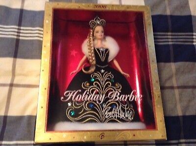 2006 HOLIDAY BARBIE - BY BOB MACKIE - NEW IN BOX