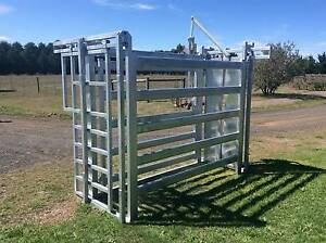 CATTLE CRUSH ECONOMY,HEAVY DUTY CATTLE PANELS Lancefield Macedon Ranges Preview