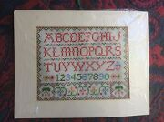 ABC Cross Stitch Sampler