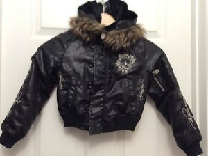 Kids size 4 Ed Hardy jacket-winter