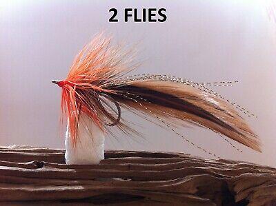 Marabou Bunny Tarpon Tan//Chartreuse 3//0 wide gap  Saltwater  Pike  Muskie  Flies