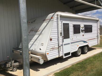 Jayco Heritage Tandam Caravan 20ft Buccan Logan Area Preview