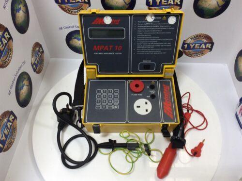 MPAT 10 Portable Appliance Tester
