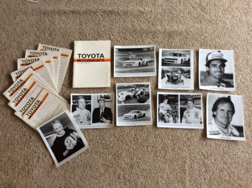 1986  Toyota Motorsports press kit