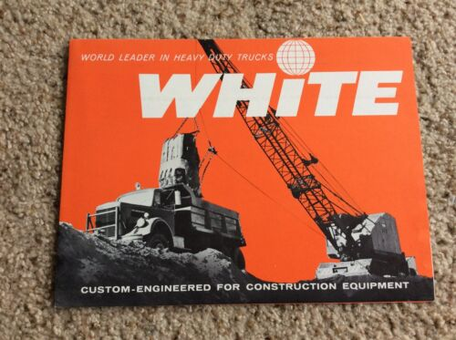 1959  White Heavy-Duty trucks ,  original factory printed sales handout.