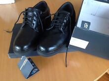 Ezywalkin Men's Leather Shoes Black size 10 Bexley North Rockdale Area Preview