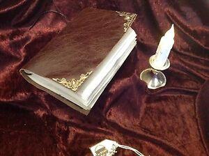 Rare Witchcraft Leather Book Black Magic Ceremonial Magic A.E.Waite 1600 Replica