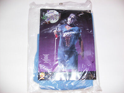 ZOMBIE PATIENT GOWN MEN HALLOWEEN COSTUME ONE SIZE