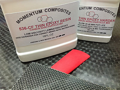 Carbon Fiber Cloth Nano Particle Epoxy Resin Kit
