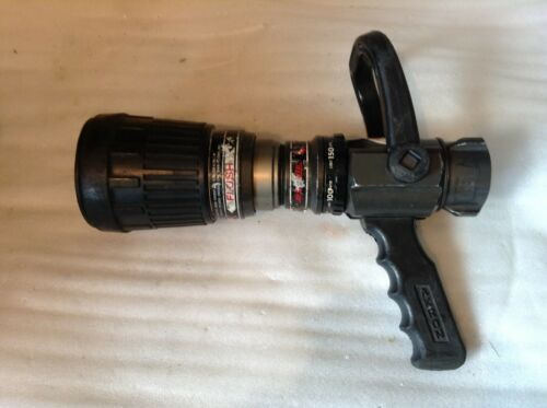 Akron Brass Company Akromatic Fire Nozzle w/ pistol grip & volume control