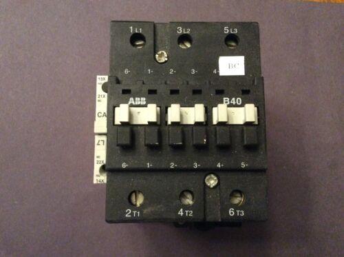 ABB B40 Contactor Starter
