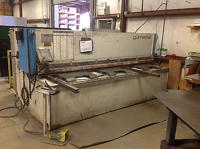 14 X 10 Adira Hydraulic Shear New 2009 - Fabricating Machinery