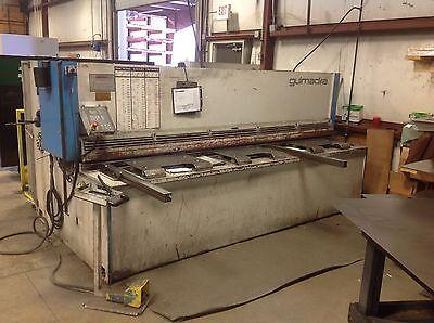 14 X 10 Adira Hydraulic Shear New 2009 - Fabricating Machinery