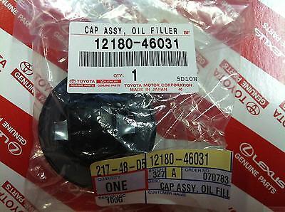 Genuine Toyota (12180-46031) Oil Filler Cap Assembly