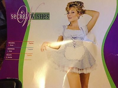 cute and Sexy Dorothy costume new in package wizard of oz