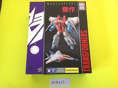 Transformers Masterpiece MP-07 Starscream Toys R Us exclusive Sealed NIB New