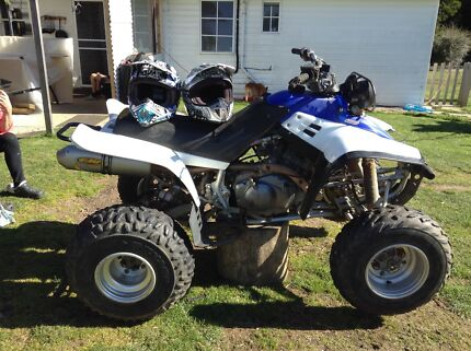 Motorbike with two adult helmets  South Riana Central Coast Preview