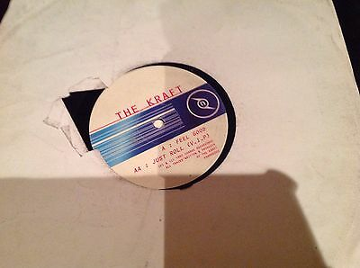 """The Kraft- Feel Good / Just Roll 12"""" Charge recordings Drum and Bass Vinyl"""