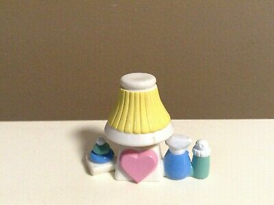 LOVING FAMILY LAMP DOLLHOUSE NURSERY FURNITURE FISHER PRICE