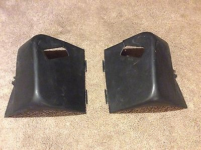 Black Rear 3 Point Harness Upper Seat Belt Covers 82 92 3Rd Gen Camaro Firebird
