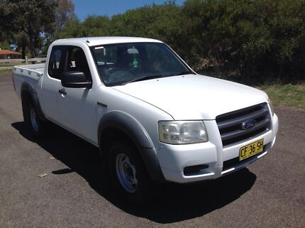 2007 Ford Ranger Extra Cab 4 X 4 Utility  Cowra Cowra Area Preview