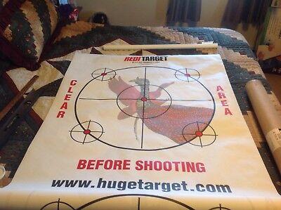 Shotgun Patterning Turkey/Duck Targets,Reditarget Kit Partially Used