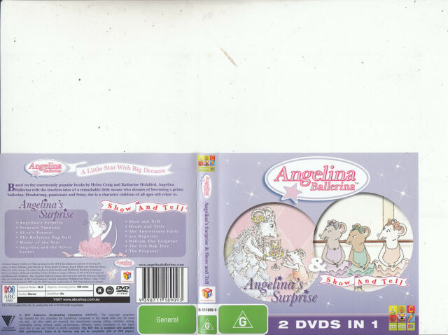 Angelina Ballerina-Angelina's Surprise/Show And Tell-2011-[13 Ep]Animated AB-DVD